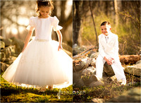 Ava and Owen 1st Communion